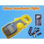 Alicate Amperímetro Digital - Dt 87 - Lee - Portátil .