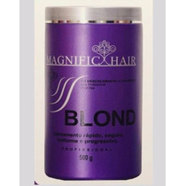 Pó Descolorante Ultra Rápido Magnific Hair Blond Original