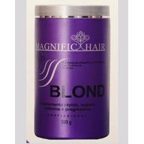 Pó Descolorante Ultra Rápido Magnific Hair Blond Original