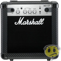 Cubo Amplificador Guitarra Marshall Mg10cf Mp3 2 Canais
