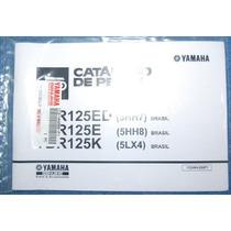 Catálogo De Peças P/ Yamaha Ybr 125 Ed, E, K, Okm, Original.