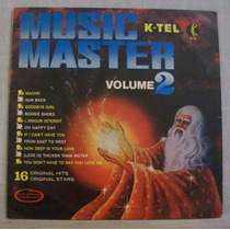 Lp Music Master Volume 2 - K-tel - 1978