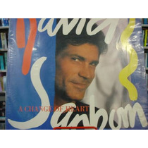Lp - David Sanborn - A Change Of Heart - C/ Encarte - 1987