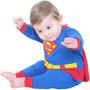 Fantasia Macacão Super Homem