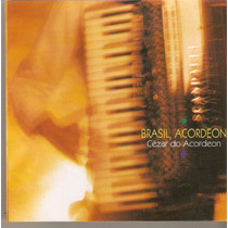 Cd Cézar Do Acordeon - Brasil, Acordeon - Novo**