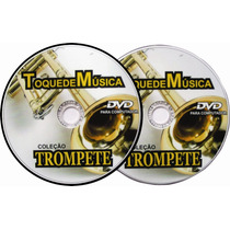 Trompete 1300 Partituras+1300 Playbacks+métodos Envio Gratis