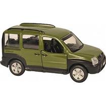 Miniatura Metal Carro Brasileiro Fiat Doblò Adventure 11 Cm