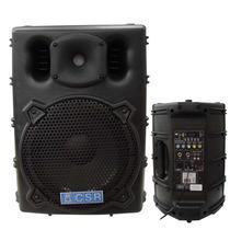 Caixa Ativa Csr 2500a + Microfone(brinde) Maxcomp Musical
