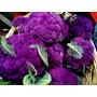 50 Sementes De Couve Flor Roxo + 50 De Couve De Bruxelas