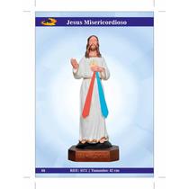 Imagens De Santos Católicos-jesus Misericordioso De Borracha