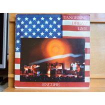 Vinil Tangerine Dream Live Encore - Vinil Duplo Importado