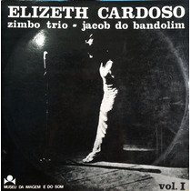 Lp Vinil - Elizeth Cardoso - Zimbo Trio Vol. I