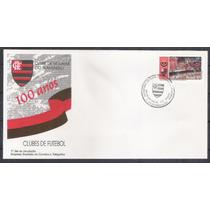 Fdc658 - 1995 Clubes De Futebol. 100 Anos Do Flamengo.