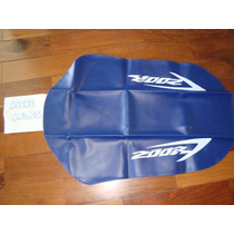 Capa De Banco Honda Xr 200 R Azul