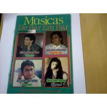 Revista Músicas De Bar Em Bar Nº2 Eando Fagner Rosana