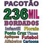 Pacotão De 236 Mil Bordados Prontos Em Wilcom Barudan Tajima