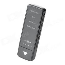 Mini Gravador De Voz - Pen Drive Espião 8gb