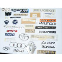 Emblemas Hyundai 2000 Sonata Clio Renault Fiat Santana Cd