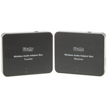 Transmissor E Receptor De Audio Wireless P2 Stereo 2,4ghz