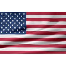 Bandeira Oficial Norte Americana Eua Us Frete Grátis