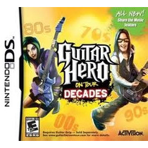 Jogo Guitar Hero On Tour Decades Original E Lacrado Para Ds