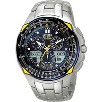 Citizen Jr3090 Skyhawk Titanium Blue Angels - Jr3090-58l