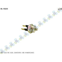 Interruptor Luz Re Gol Saveiro /86 4 Marchas