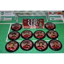 Flamengo - Tri Campeão Carioca 1979 - Botões Estilo Brianezi
