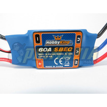 Esc Speed Control Hobbyking 60a Ubec 4a Brushless + Brinde