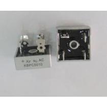Kbpc5010 Diodo Ponte Retificadora 50a 1000v Pct 6 Pçs