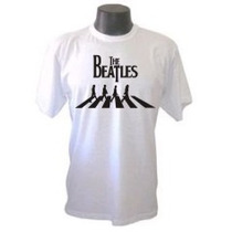 Camiseta Beatles 1 Galeria Rock Metal Bandas Camisa
