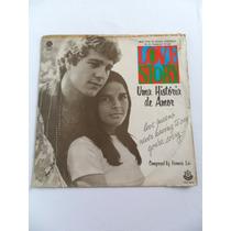 Disco Lp Vinil Trilha Sonora Filme Love Story, Ano 1971