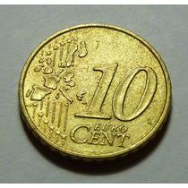 Moeda Espanha 10 Cent Euro 2000