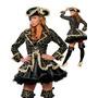Fantasia Pirata Realeza Deluxe Importada Tam. M ( 38 A 40)