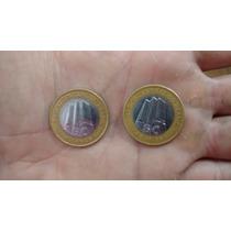 Moeda R$1.00 40anos Bc Moedas Antigas Valiosas
