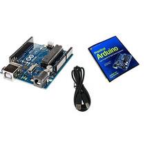 Placa Arduino Uno R3 Rv3 Atmega328 + Cabo Usb + Ebook