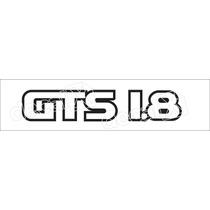 Adesivo Traseiro Gol Gts 1.8 1987 A 1994 - Decalx