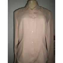 Camisa Feminina Creme Tamanho 42