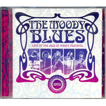 Cd The Moody Blues - Live At The Isle Of Wight Festival 1970