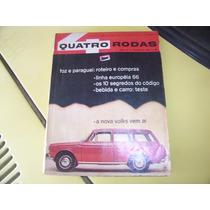 Revista 4 Rodas -- Itamaraty Malzoni -- Novembro De 1965