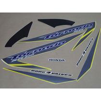 Kit Adesivos Honda Xr 250 Tornado 2007 Amarela - Decalx