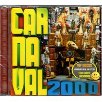 Cd Sambas De Enredo 2000 São Paulo - Raro