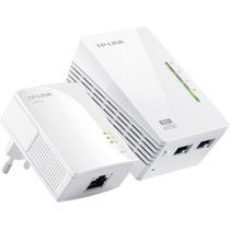Tp-link Tl-wpa2220 Kit Powerline Extensor Ethernet 300mbps