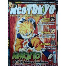 Revista/mangá-neotokyo-número 39-naruto,jiraya,akira...