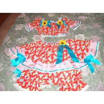 Vestido De Festa Junina Infantil