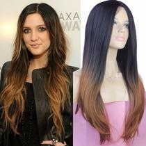 Peruca Feminina 2 Tons Ombré Hair - Pronta Entrega!