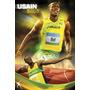 Poster Usain Bolt (2004) 61 X 91 Cm Inglês Atletismo Jamaica