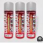 3 Unidades Tinta Spray Alta Temperatura Aluminio Colorart