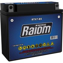 Bateria Moto Yb7b-b Gel Cbx 150 Cbx 200 Strada Nx 200 Xr 200