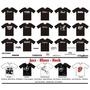 Camisetas, Zildjian, Mapex, Dw, Tama, Ludwig, Paiste, Pearl